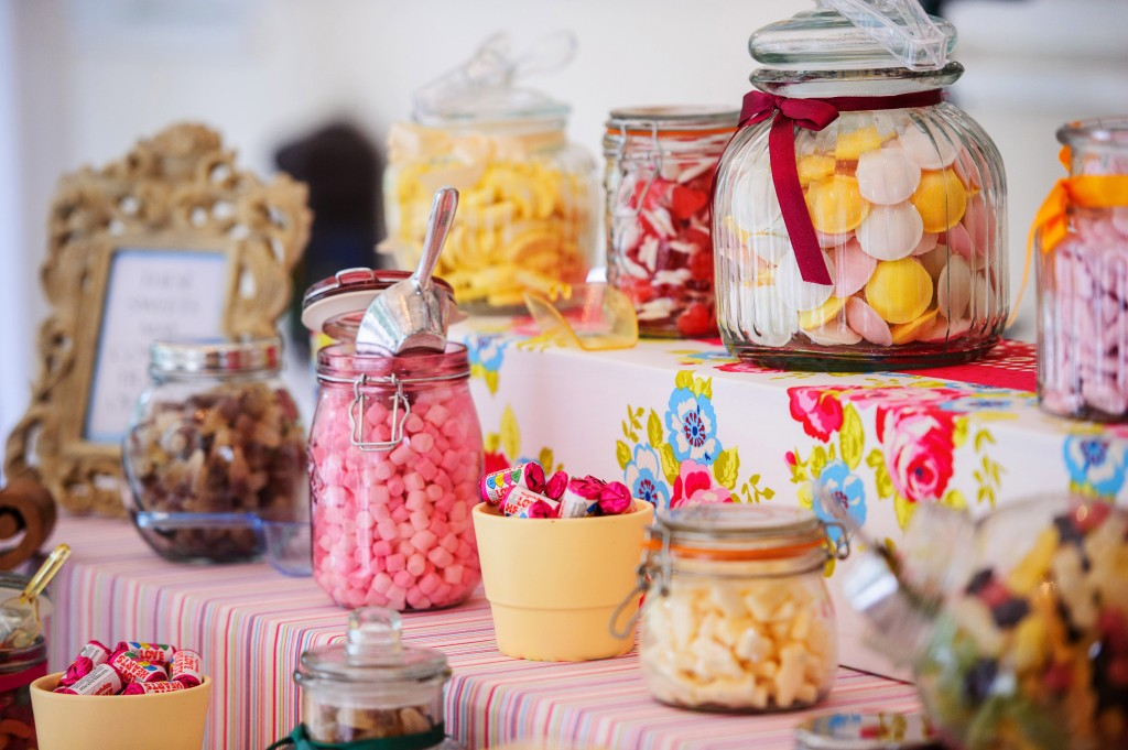sweet glass jars