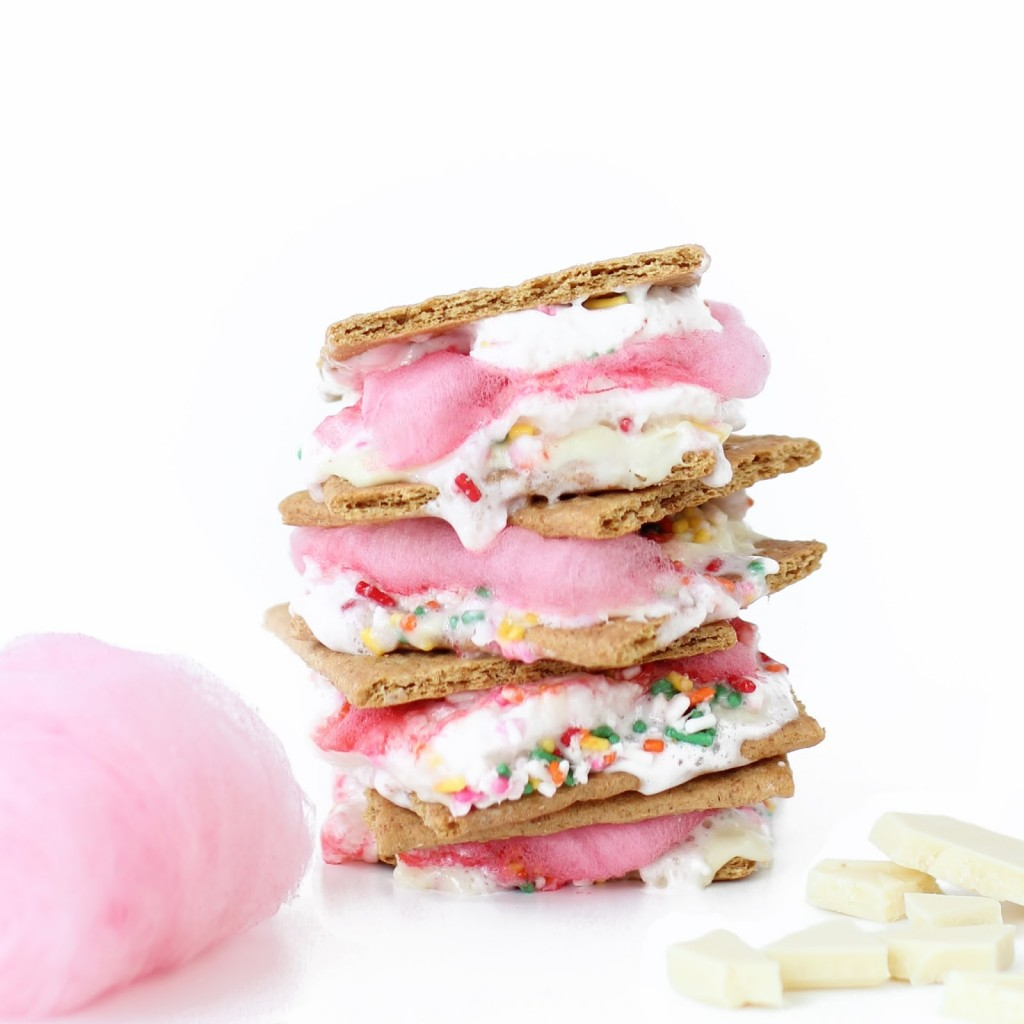 candy floss smores