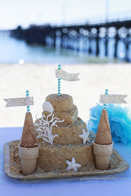 sandcastle cake 3