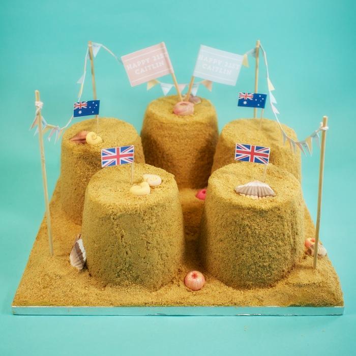 sandcastle cake 6