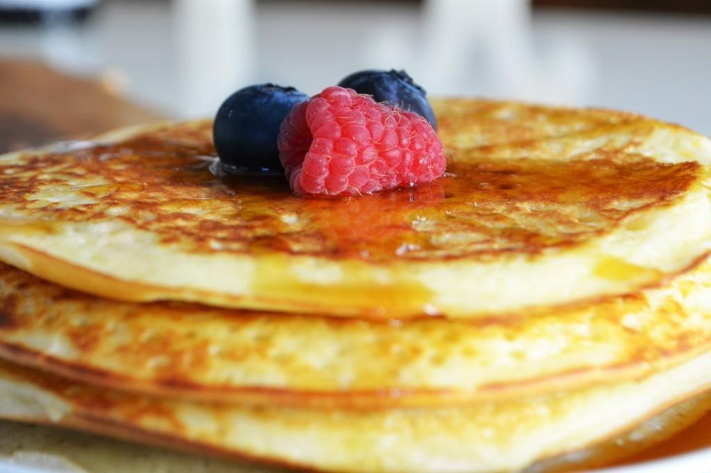 vanilla fudge pancakes