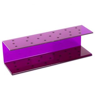 Purple Acrylic Cakepop Stand (for up to 19 Pops)