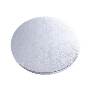 """8"""" / 20cm Silver Cake Board x1"""