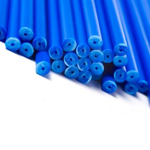 Blue Lollipop Sticks in Bulk Boxes