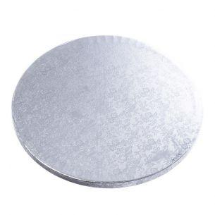 """10"""" / 25cm Silver Cake Board x1"""