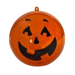 Halloween Pumpkin Bauble Decoration Sweets Container