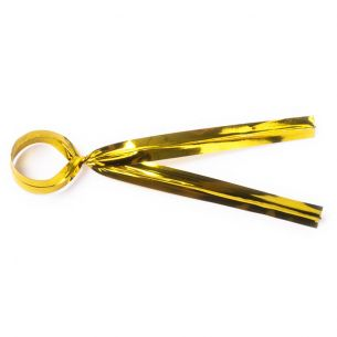 Gold Twist Ties