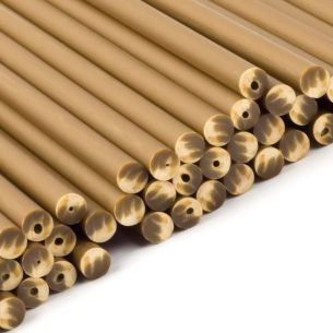 Gold plastic Lollipop Sticks