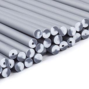 Silver Plastic Lollipop Sticks in Bulk Boxes