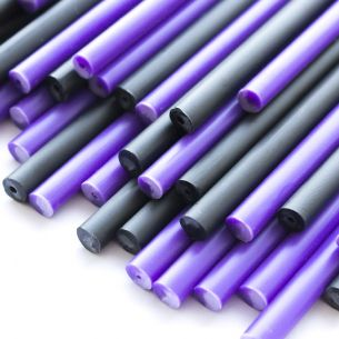 Purple Potion Halloween Plastic Lollipop Sticks