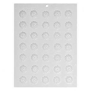 Flower Heads Chocolate Mould