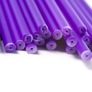 Purple Plastic Lollipop Sticks