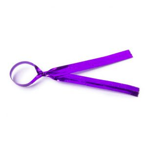 Purple Twist Ties