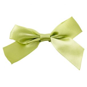 Sage Green Twist Tie Bows
