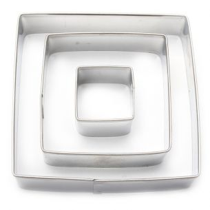 Square Fondant Cutter Set