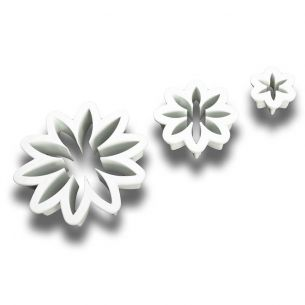 TC2021	Daisy Fondant Cutter Set