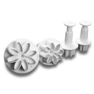 TC2026 set of 4 small floral plungers set
