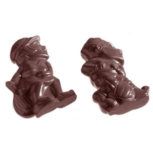 Chocolate Mould Sports Figures 3 Fig. cw1181