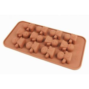 icon people silicone chocolate mould