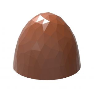 Chocolate Mould Ball Faceted