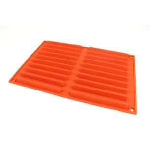 long triangle silicone chocolate mould