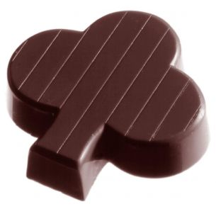 Chocolate Mould Cup Clover