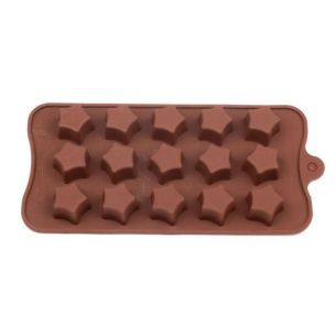Plain Stars Silicone Mould