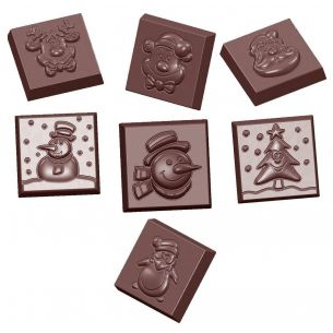Chocolate Mould Christmas Characters 7 Fig.
