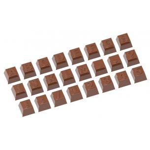 Chocolate Mould Part 1 Alphabet 24 Fig.