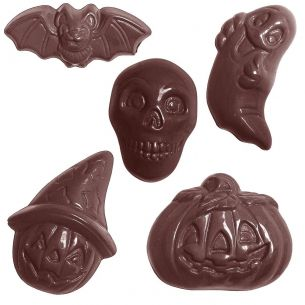 Chocolate Mould Halloween 5 Fig.