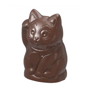 Chocolate Mould Maneki Neko Lucky Cat