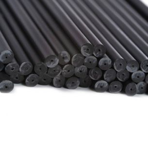 140mm x 4.5mm Black Plastic Lollipop Sticks x 3000 (NS)