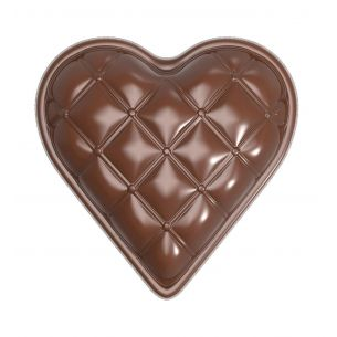 Chocolate Mould Heart Chesterfield