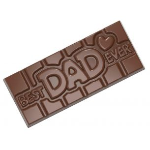 CHOCOLATE SHAPE TABLET BEST DAD EVER