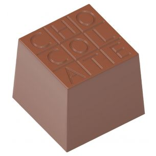 "Chocolate Mould Cube ""Chocolate"" 1729"