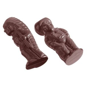 Chocolate Mould Cowboy And Indian 2 Fig. cw1180