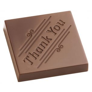 "Chocolate Mould Character ""Thank You"""