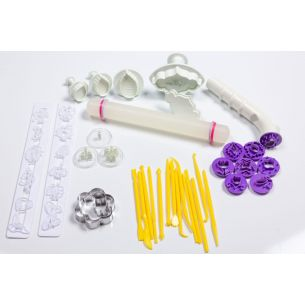 Flower Fondant Cutter Multi Pack Goody Bag