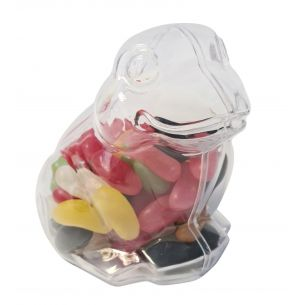 Frog Fillable Plastic Sweet Container Decoration Crafts