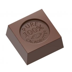 "Chocolate Mould Cube ""100% Cocoa Butter"""
