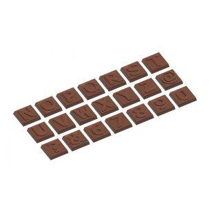 Chocolate Mould Karak Part 2 Alphabet 21 Fig.