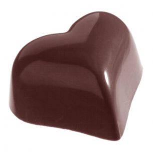 Chocolate Mould Heart Ball 9 gr