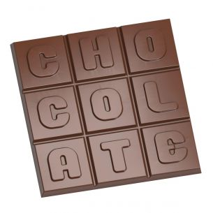 "Chocolate Mould Square Tablet ""Chocolate"""