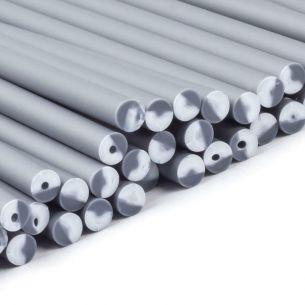 Silver Plastic Lollipop Sticks 114mm x 4mm x5000