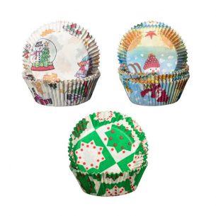180 cupcakes christmas selection