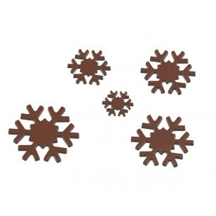 Chocolate Mould Snow Stars Callebaut 5 Fig.