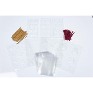 Christmas Chocolate Mould Multi Pack Goody Bag