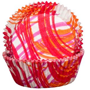 Andorra Red Cupcake Cases x60