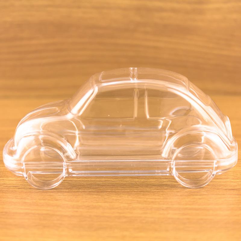 12x voiture en forme de remplir transparent plastique for Peindre plastique exterieur voiture